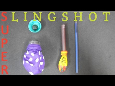 How To Make Pocket Slingshots | Super Shooter | DIY Slingshot