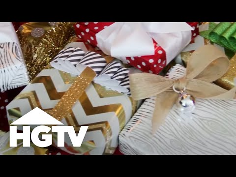 Easy Holiday Gift Bows