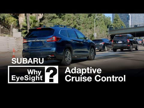 Subaru Adaptive Cruise Control | Why EyeSight?