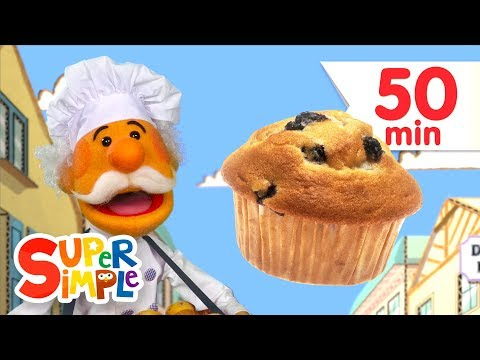The Muffin Man + More Kids Songs   Super Simple Songs