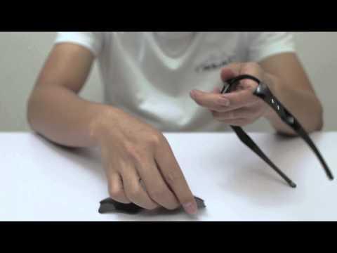 Oakley Flak Jacket XLJ Sunglasses Lenses Replacement(Installation/Removal)
