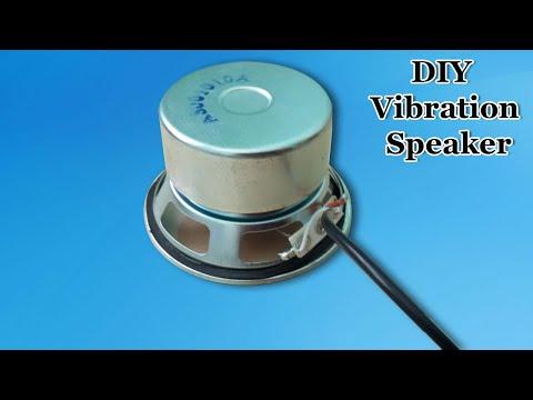 Vibration Speaker Made Easy