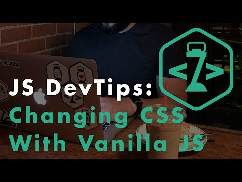 How to Change CSS Styles with Vanilla JavaScript