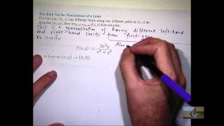 Single-Variable Calculus 1) The Limit of a Function - PakVim