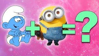 Smurfs + Minions = ???