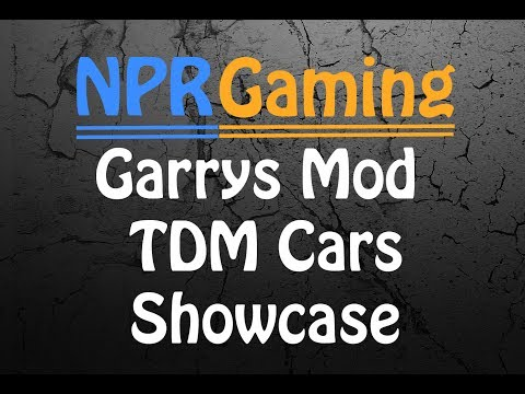 TDM Cars showcase - Garry's Mod