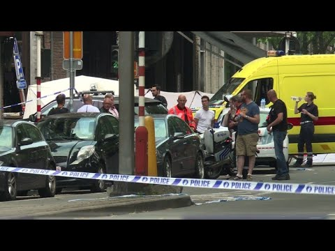 Two police, one civilian killed in Belgium shooting