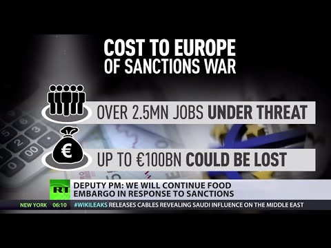 Sanctions Cost: Europe could stand to lose 100bn Euros