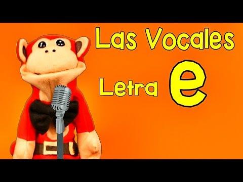 Xxx Mp4 La Canción De Las Vocales A E I O U Letra E Show Del Mono Sílabo Canciones Infantiles 3gp Sex