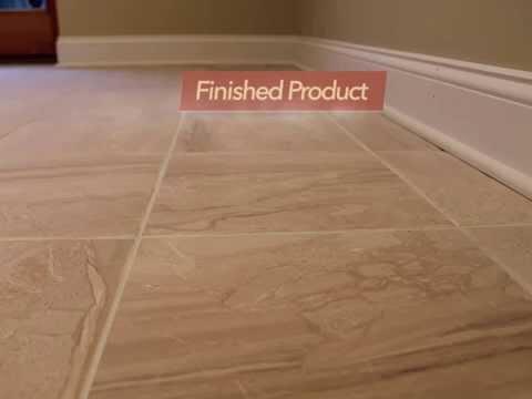 Monk's Home Improvements Tile Floor Installation