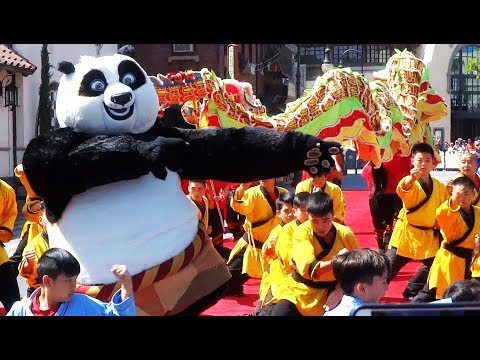DreamWorks Theatre featuring Kung Fu Panda grand opening ceremony at Universal Studios Hollywood