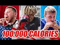 SIDEMEN 100000 CALORIES IN 24 HOURS CHALLENGE USA EDITION