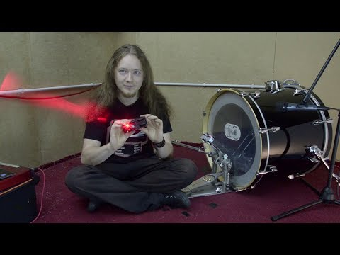 Innovative LASER Bass Drum Trigger: Review!