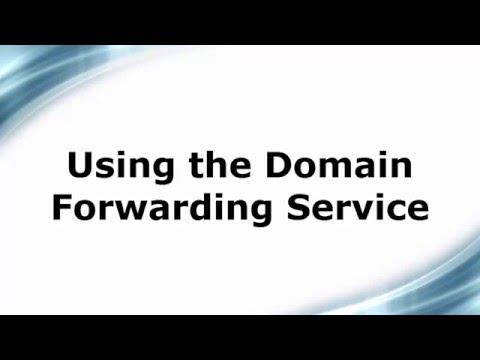 Using Domain Forwarding