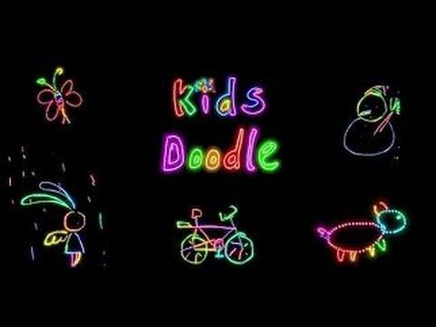 Kids Doodle | Colour & Draw