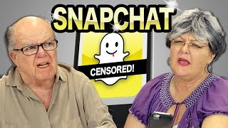 ELDERS REACT TO SNAPCHAT