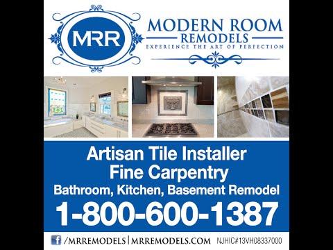 Modern Room Remodels - 12X24 Porcelain Tile Install - Time Lapse