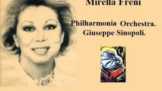 Mirella Freni. Ave Maria. Otello. G. Verdi.