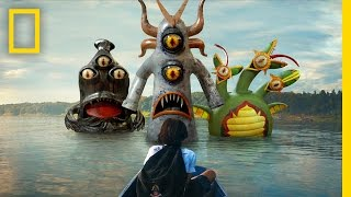 This VR Game Shows Kids How to Fight Monsters in the Water   Short Film Showcase