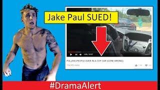 Jake Paul SUED! #DramaAlert YouTuber ARRESTED for the Dumbest Prank Ever!