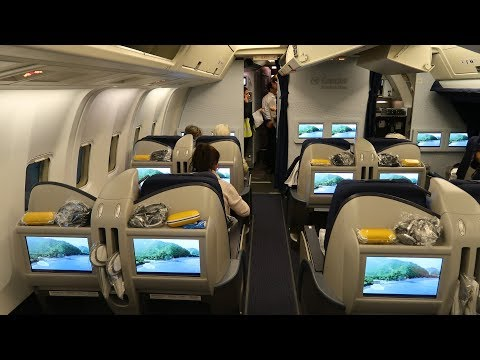 Condor Boeing 767 Business Class from Frankfurt to Zanzibar (via Mombasa)
