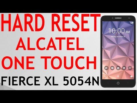 HARD RESET ALCATEL ONE TOUCH FIERCE XL 5054N METRO PCS WIPE