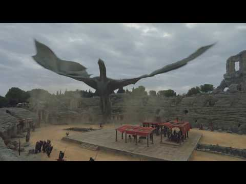 Game of Thrones S07E07 Daenerys Arrives at Dragon Pit With Her Dragons.