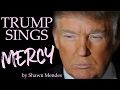 Donald Trump Sings Mercy by Shawn Mendes