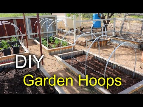 Garden Hoops with a Pallet - How to make