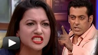 Salman Shouts At Gauhar Khan - Bigg Boss Season 7