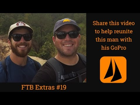 Reunite this man with his GoPro! Please share this clip in time for Christmas! FTB Extra