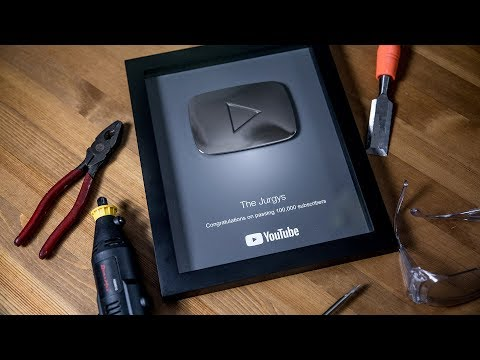 Engraving YOUR NAMES on our YouTube Play Button!!