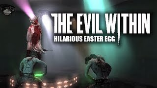 The Evil Within Hilarious Easter Egg | Shade Dance | The Consequence DLC