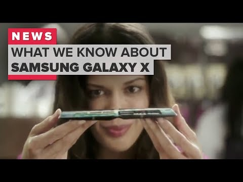 What's Samsung Galaxy X? New reports on folding phone (CNET News)