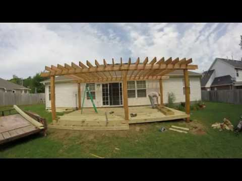 Leeroy Crossland Deck and Pergola contractor Fayetteville Arkansas