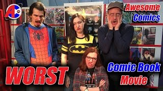 Download Worst Comic Book Movie - Awesome Comics Video