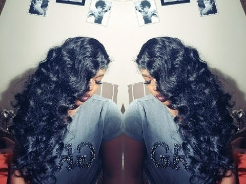 How To: Hollywood Retro Glam Waves w/ Flexi Rods or Curling Iron
