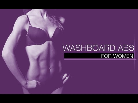 Washboard Abs Workout for Women (FLAT & DEFINED!!)
