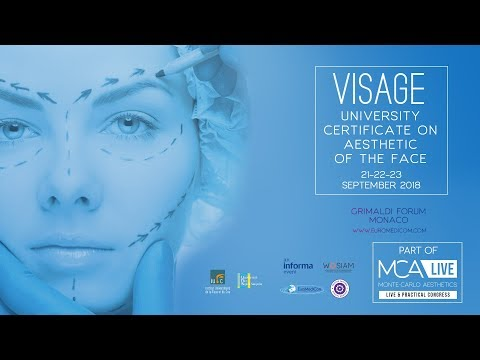 VISAGE 2018 -  UNIVERSITY DIPLOMA AESTHETIC OF THE FACE