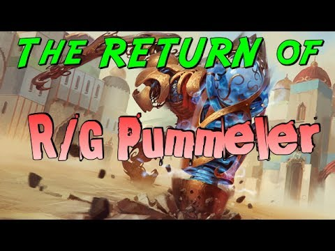 Mtg Deck Tech: R/G Pummeler in Amonkhet Standard! (Top 8 a GP for $125!)