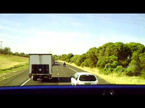 Bus Ride Sydney-Canberra and return. Feb2011
