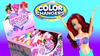 Color Changing Ariel Disney the Little Mermaid and Color Changing Mermaids Dolls Surprise Blind Bags