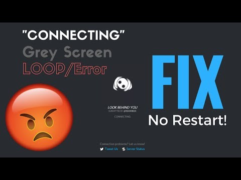 How to FIX Discord GREY SCREEN/