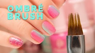 Nail Polish Ombre with Ombre Brush