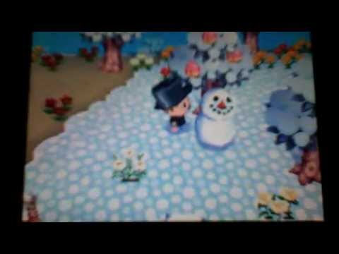 Animal Crossing: Wild World - Make a Perfect Snowman