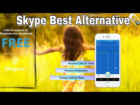 How To Make Free Calls In UAE: Skype Best Alternative | Dingtone Free Credit | Skype Blocked In UAE