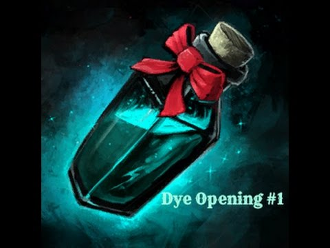 Guild Wars 2 [Dye Opening] #1 100 Dyes Opening