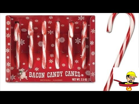 Gumballs, Deer Sticks & Bacon Candy Canes - FOOD REVIEW