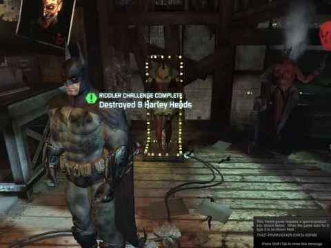 Batman Arkham City - Easter Egg - Haryley Quinn is Pregnant?