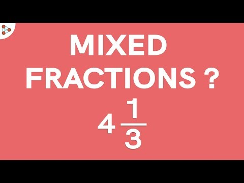 What are Mixed Fractions? Part 1